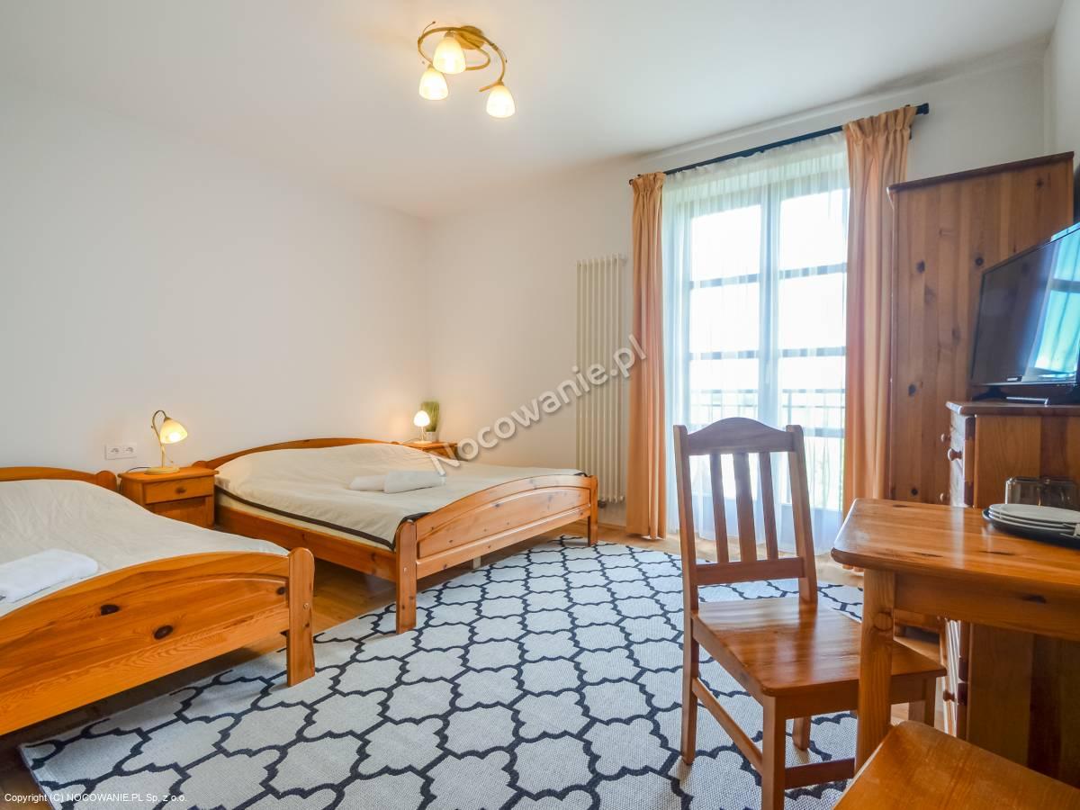 Pokój 3 osobowy z balkonem
