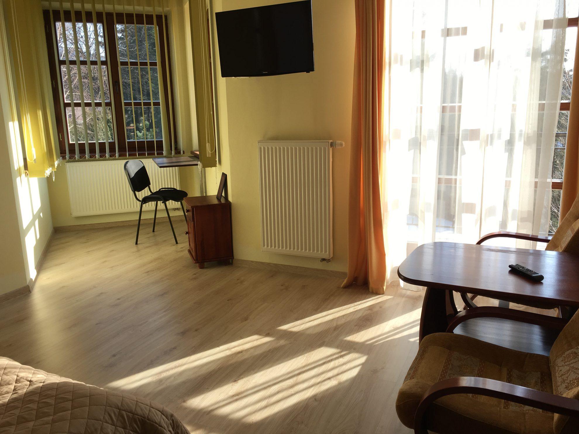 Apartament 2 pokojowy z balkonem 5os.