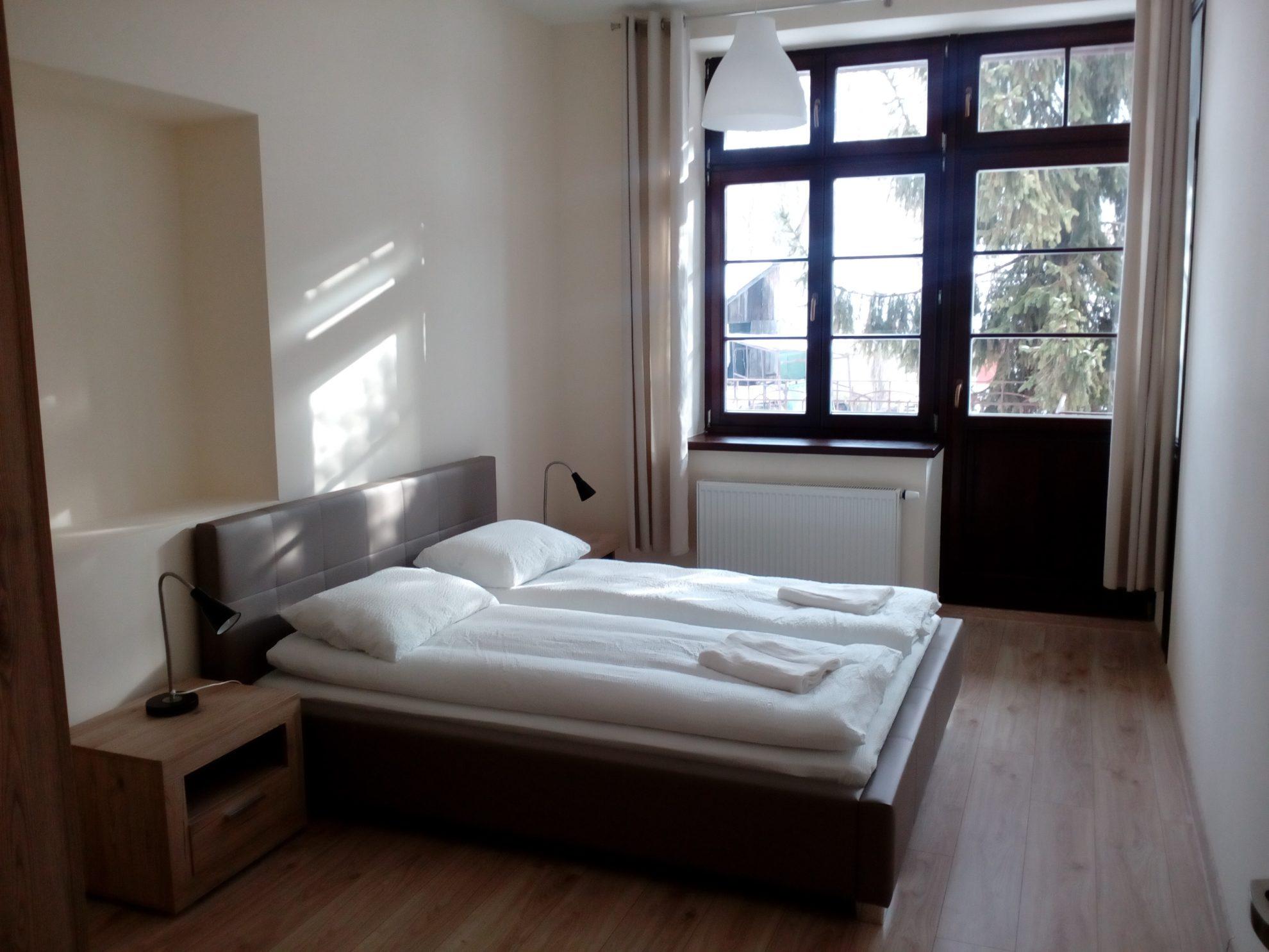 Apartament 2 pokojowy z tarasem 6 os.
