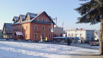 Apartamenty przy Parku - Rabka Zdrój - zima