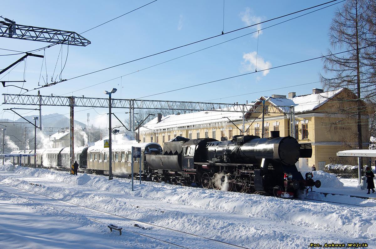 Skansen Taboru Kolejowego Rabka - Chabówka