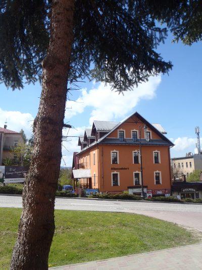 Apartamenty przy Parku - Rabka Zdrój - Elewacja