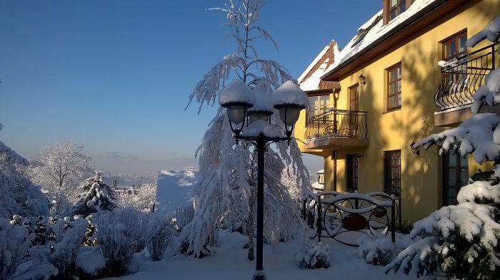 Villa Gorczańska - Rabka Zdrój - zima