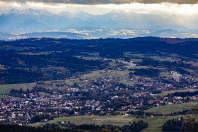 Rabka Zdrój - panorama